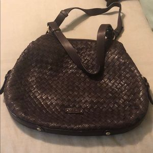 EUC Cole Haan Woven Tote